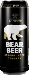 Пиво Bear Beer Strong Lager alc.7.7% 0,5 л ж/б